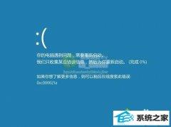 技术编辑教您win8.1系统蓝屏提示错误代码0xc000021a原因及的教程?