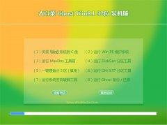 大白菜Win8.1 2021.04 32位 纯净装机版