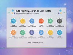 新萝卜家园Windows10 64位 青年纯净版 2021.04