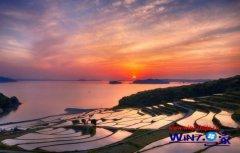 """微软发布中文适用于win7系统的""""日本风景""""全新壁"""